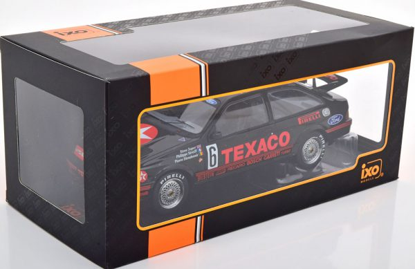 "Ford Sierra RS Cosworth No.6, 24Hrs Spa 1987 ""Texaco"" Soper/Dieudanne/Streiff 1-18 Ixo Models"