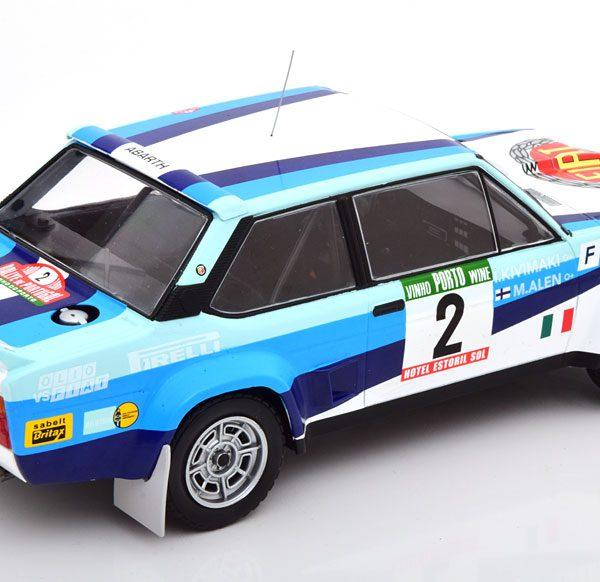 Fiat 131 Abarth No.2, Rally Portugal 1980 Alen/Kivimaki 1-18 Ixo Models