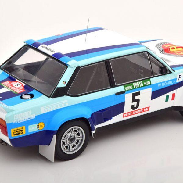Fiat 131 Abarth Winner Rally Portugal 1980 Röhrl / Geistdörfer 1-18 Ixo Models