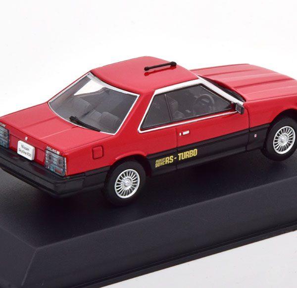 Nissan Skyline R30 Hard Top 2000 Turbo RS-X 1983 Rood 1-43 Norev