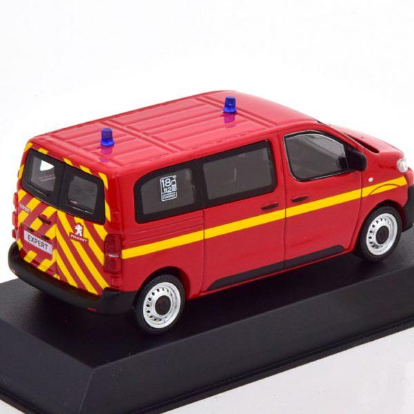 "Peugeot Expert 2016 ""Pompiers"" Rood / Geel 1-43 Norev"