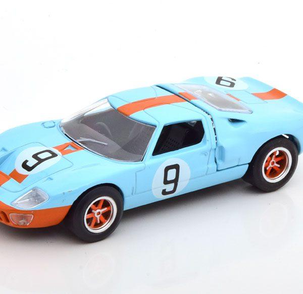 Ford GT40 #9 Winner 24h Le Mans 1968 Drivers Rodriguez/Bianchi 1-43 Norev Jet Car