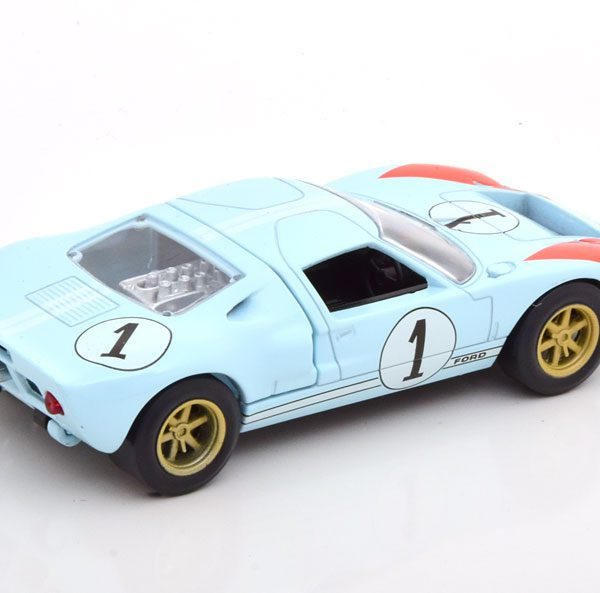 Ford GT40 MK 2 No.1 The Real Winner 24h Le Mans 1966 Drivers Miles/Hulme 1-43 Norev Jet Car