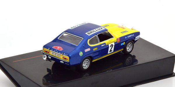 Ford Capri No.2, Rally Baltic 1972 Röhrl/Berger 1-43 Ixo Models