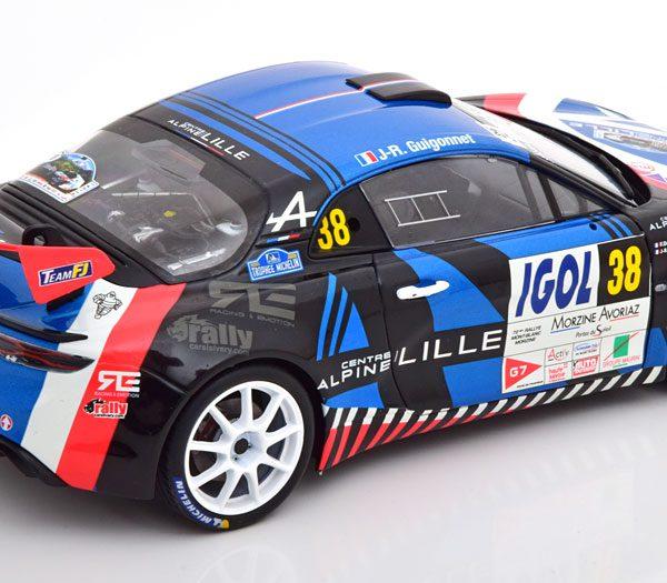 Renault A110 R-GT No.38, Rally Du Mont Blanc 2020 Delecour/Guigonnet 1-18 Solido