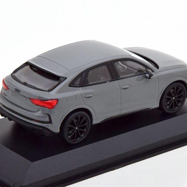 Audi RS Q3 Sportback 2019 Grijs 1-43 Minichamps Limited 336 Pieces