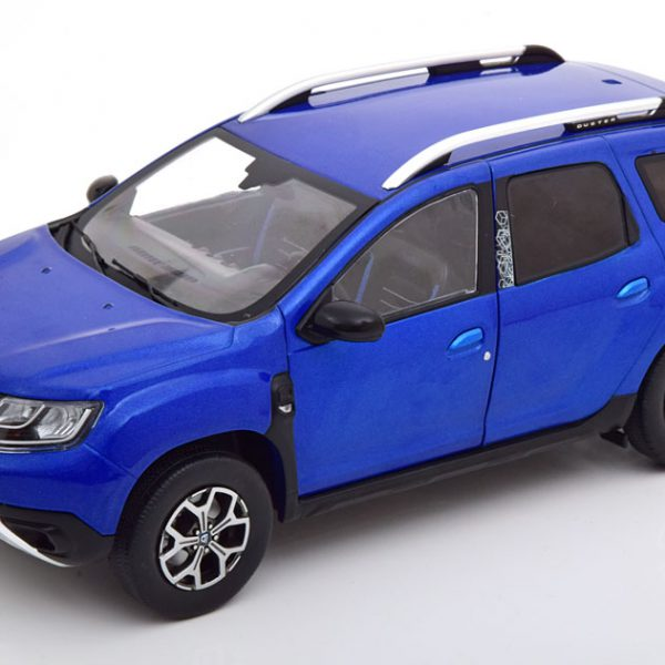 Dacia Duster MKII 2018 Blauw Metallic 1-18 Solido