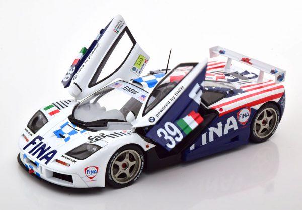 McLaren F1 GTR No.39, 24Hrs Le Mans 1996 Piquet/Cecotto/Sullivan 1-18 Solido