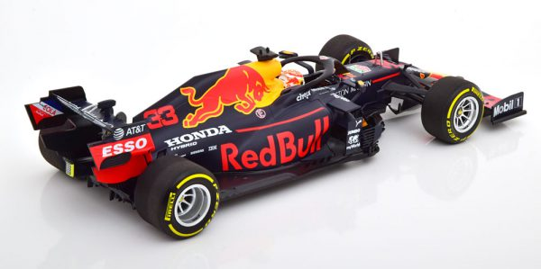 Aston Martin Red Bull Racing RB16 3rd Place Styrian GP 2020 ( Oostenrijk ) Max Verstappen 1-18 Minichamps Limited 840 Pieces