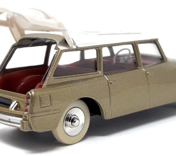 Citroen ID 19 Break Goud / Wit 1-43 Dinky Toys ( Atlas )
