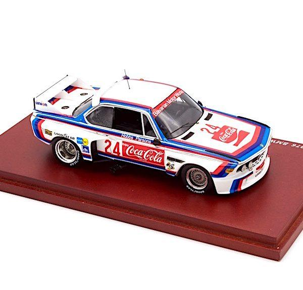 "BMW 3.0 CSL No.24 1976 Daytona 24Hr. Motorsport ""Coca-Cola"" Drivers: Hobbs/Parsons 1-43 True Scale Miniatures"