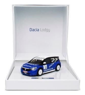 Dacia Lodgy #2 Trophée Andros 2012 A.Prost Blauw / Wit 1-43 Eligor Limited Edition of 2,800 pcs.