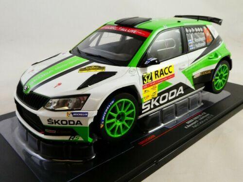 Skoda Fabia R5 N°32 Rally Catalunya 2018 Rovanpera/Halttunen 1-18 Ixo Models
