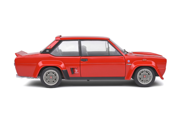 Fiat 131 Abarth 1980 Rood 1-18 Solido