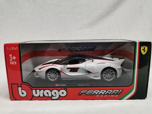 Ferrari FXX-K Nr#15 Wit 1-24 Burago Racing