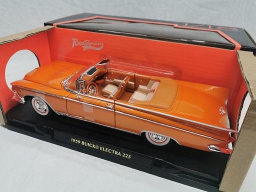 Buick Electra 225 1959 Oranje Metallic 1-18 Lucky Diecast