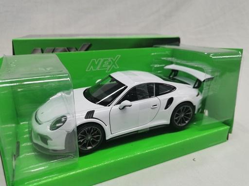Porsche 911 GT3 RS Wit 1-24 Welly