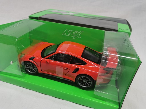 Porsche 911 GT3 RS 2015 Oranje 1-24 Welly