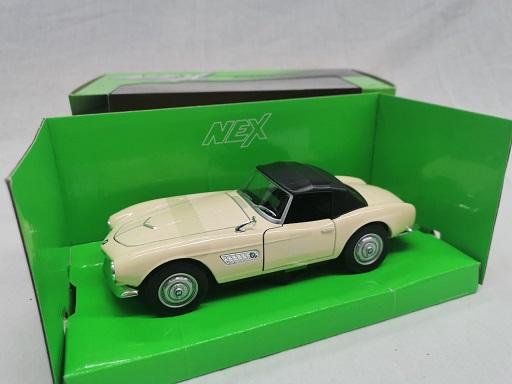 BMW 507 Softtop Beige 1-24 Welly
