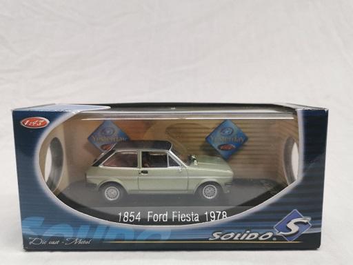 Ford Fiesta 1978 Groen / Zwart 1-43 Solido