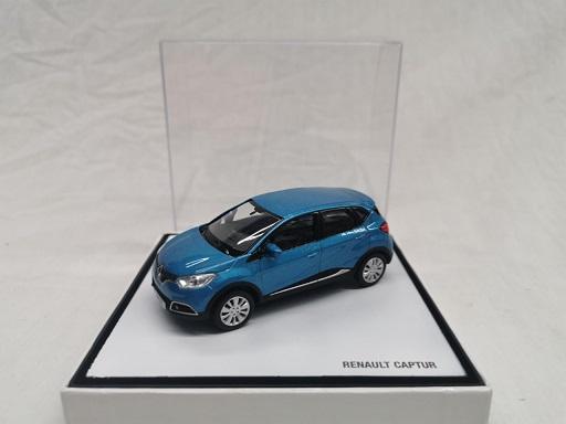 Renault Captur 2003 Blauw Metallic 1-43 Norev