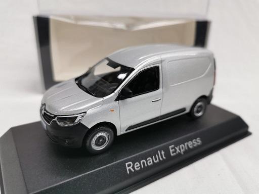 Renault Express 2021 Zilver 1-43 Norev
