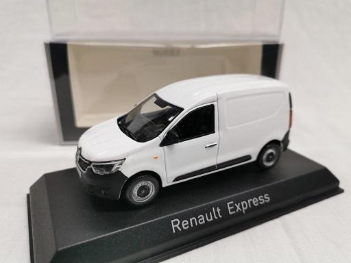 Renault Express 2021 Wit 1-43 Norev