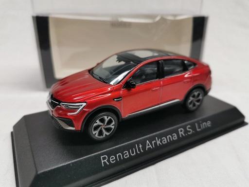 Renault Arkana R.S. Line 2021 Rood Metallic 1-43 Norev