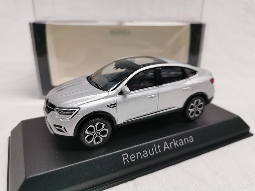 Renault Arkana 2021 Highland Grey 1-43 Norev