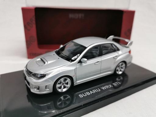 Subaru Impreza WRX STi Zilver 1-43 Ebbro
