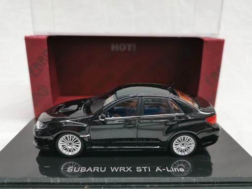 Subaru Impreza WRX STi A-Line Zwart 1-43 Ebbro