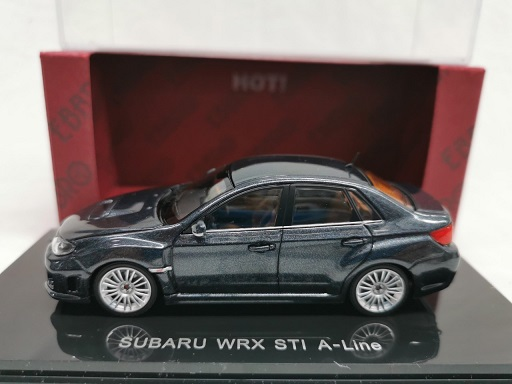 Subaru Impreza WRX STi A-Line Grijs 1-43 Ebbro