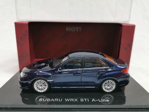 Subaru Impreza WRX STi 2005 A-Line Blauw Metallic 1-43 Ebbro