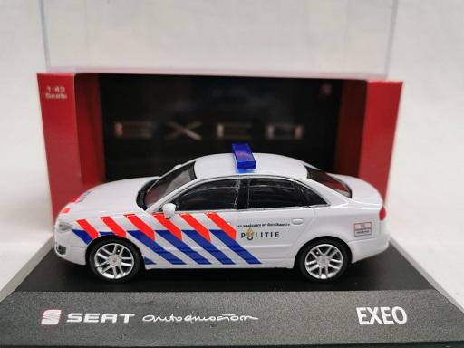 Seat Exeo Sedan 2012 Nederlandse Politie ( Oude Striping ) Omgebouwd 1-43 Fischer