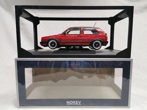Volkswagen Golf II GTi ( Inkl. BBS Velgen Zwart ) 1-18 Norev