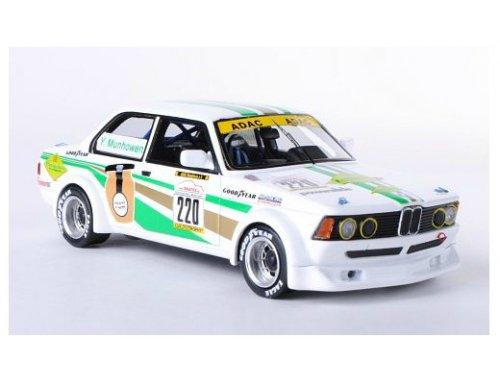 BMW 323i E21 Gr.2 #220 Moutarferie Y.Munhowen 1-43 Wit Neo Scale Models
