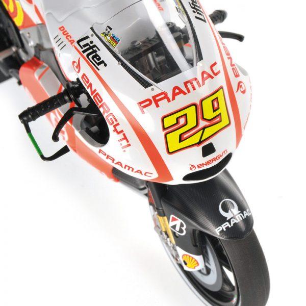 Ducati Desmocedici GP13 Andrea Iannone Energy T.I.Pramac Racing MotoGP 2013 1-12 Minichamps