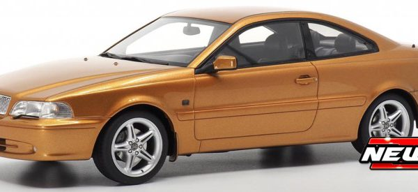 Volvo C70 Coupe 1998 Oranje Metallic 1-18 DNA Collectibles Limited Edition