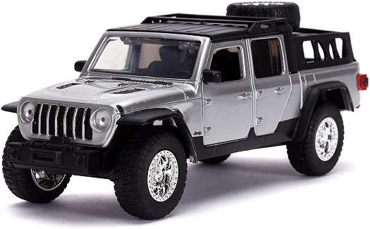 "Jeep Gladiator 2020 ""Fast&Furious 9"" Silver 1/32 Jada Toys"