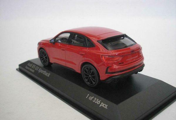 Minichamps 1:43 410018100 Audi RS Q3 Sportback 2019 Metallic Red NEW