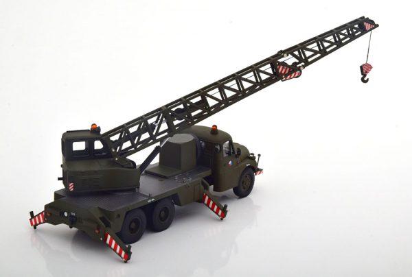"""Tatra T148 Kranwagen / Crane Truck """"CSSR"""" Groen 1-43 Schuco ( Metaal )"""