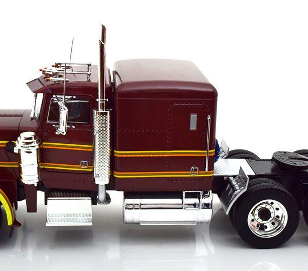 Peterbilt 359 1967 Bruin Metallic 1-18 Road Kings Limited 500 Pieces