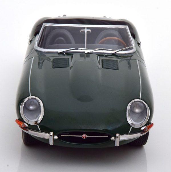 Jaguar E-Type Series 1 LHD Convertible 1961 Groen 1-18 KK Scale Limited 500 pcs.
