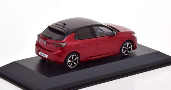 Opel Corsa E 2019 Rood Metallic 1-43 Minichamps Limited 250 Pieces