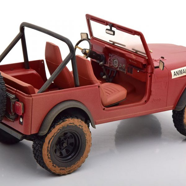 """Jeep CJ-7 1981 """"The A-Team"""" 1-18 Greenlight Collectibles"""