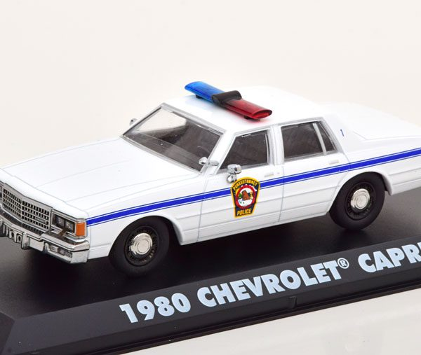 """Chevrolet Caprice 1980 """"Groundhog Day"""" Wit 1-43 Greenlight Collectibles"""