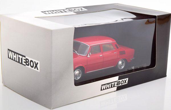 Skoda 100L 1974 Rood 1-24 Whitebox