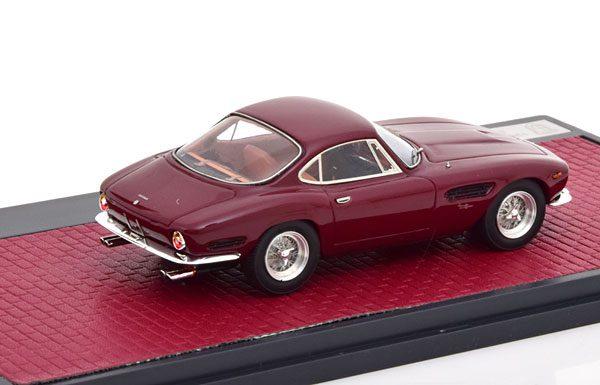 Ferrari 250 GT Berlinetta Passo Corto Lusso Bertone 1962 Donkerrood 1-43 Matrix Scale Models Limited 408 Pieces