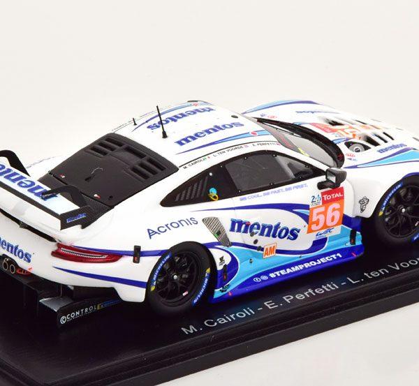 Porsche 911 RSR No.56, 24Hrs Le Mans 2020 Cairoli/Perfetti/tenVoorde 1-43 Spark