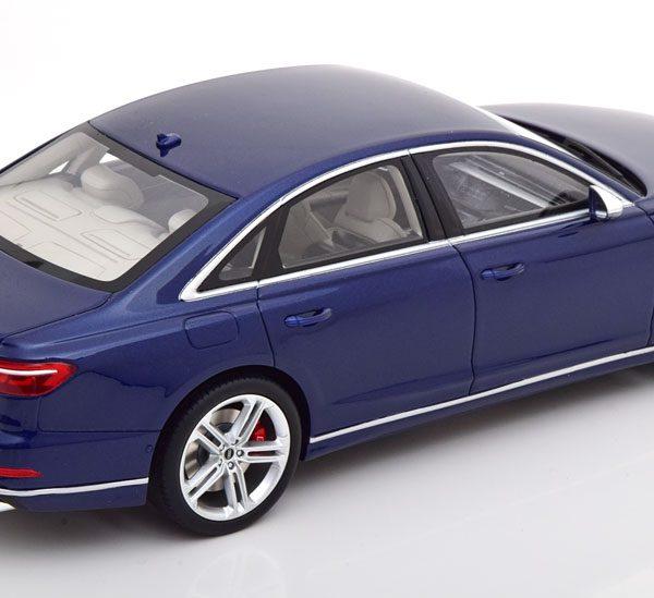 Audi S8 2020 Donkerblauw Metallic 1-18 GT Spirit Limited 999 Pieces